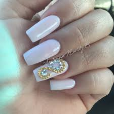 baby pink coffin acrylic nails spring nails colored acrylic
