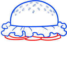 draw a krabby patty step by step drawing sheets added by dawn