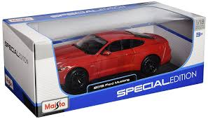 maisto ford mustang amazon com maisto special edition 2015 ford mustang 1 18 scale