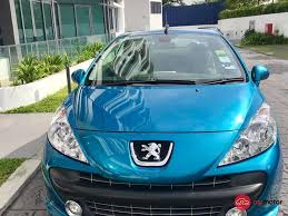 peugeot car price in malaysia 2009 peugeot 207 cc for sale in malaysia for rm59 900 mymotor