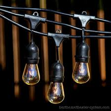 Commercial Grade String Lights by Industrial Outdoor String Lights Sacharoff Decoration