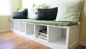 Corner Storage Bench Plans by Kitchen Bench Plans