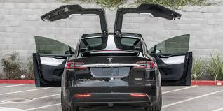 tesla owners manual tesla model x door gets torn off by truck as it automatically