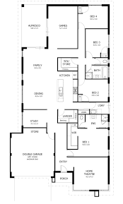 4 bedroom house plans one 4 bedroom house plans home designs celebration homes lively 3