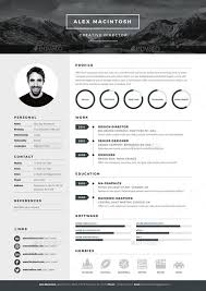illustrator resume templates mono resume template by www ikono me 3 page templates 90 icons