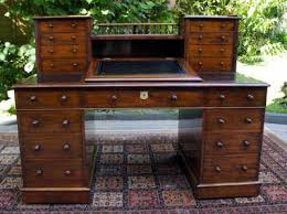 Antique Desk With Hutch History Of Antique Desks Writing Tables And Library Tables
