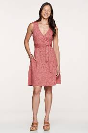 cue dress womens cue wrap sl dress by toad and co at gazelle sports