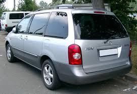 mazda minivan file mazda mpv rear 20080728 jpg wikimedia commons