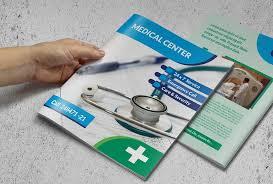 healthcare brochure templates free brochure template brochure templates creative market