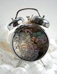 shabby chic assemblage clock by julia stainton the classroom