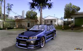 nissan stagea stagea gtr for gta san andreas