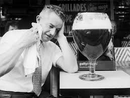 giant drink giant beer glass in 1959 stock photo getty images