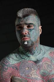 let u0027s champion diversity u0027 two men with tattoos everywhere to