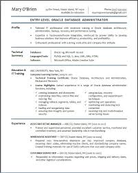 sample administrative resumes entry level business administration resume resume for your job oracle database architect sample resume football head coach sample sample resume for entry level database administrator