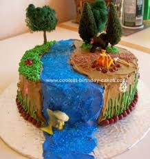 cool homemade buttercream camping cake camping cakes carrots