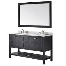 Mirrored Vanity With Drawers Vinnova 713060 Florence 60 Vanity Without Mirror Vanity Top