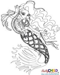 sirena von boo monster coloring pages
