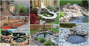 garden pond ideas pictures beautiful 20 diy backyard pond ideas on