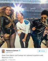 Chris Martin Meme - super bowl 50 sees twitter erupt with memes as chris martin gets