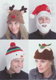 Christmas Tree Hat Knitting Pattern King Cole Dk U0026 Chunky Christmas Cushion Knitting Pattern Santa