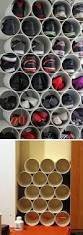 22 diy shoe storage ideas for small spaces pvc pipe diy shoe