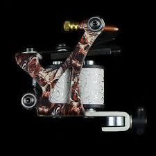 tattoo machine kit 1 coil 4 color inks gun set power needle tip
