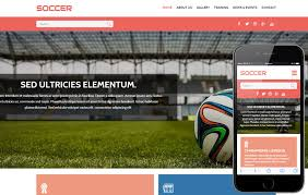 soccer a sports category flat bootstrap responsive web template by