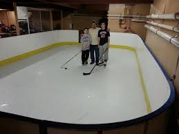Backyard Ice Rink Kits by D1 Photo Gallery Basement Rink For Dana Pinterest D1