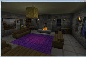 living room white tile flooring idea with living room minecraft