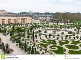 Versailles Garden Map Garden Of Versailles Royalty Free Stock Images Image 32125519