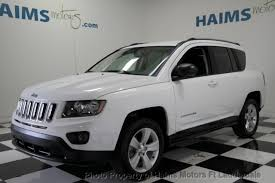 jeep compass used 2016 used jeep compass fwd 4dr sport at haims motors serving fort