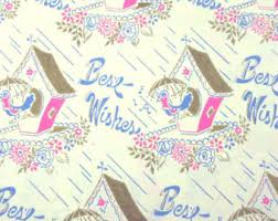 bridal shower wrapping paper vintage wedding wrapping paper or gift wrap with wedding rings in