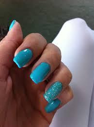 turquoise glitter nail designs pinterest turquoise nail design