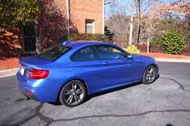 bmw m235i manual bmw m235i 235i coupe manual estoril blue 2015 like