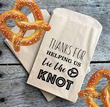 pretzel bags for favors best 25 wedding pretzels ideas on dessert table