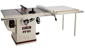 jet benchtop table saw jet 708677pk jtas 10xl50 5 1dx deluxe cabinet saw 5hp 1ph 50 inch