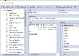 Tsql Alter Table Add Column Sql Complete Intellisense And Code Formatting In Ssms