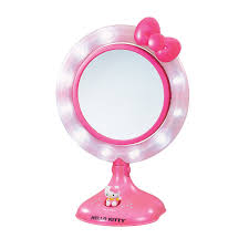 Hello Kitty Wall Mirror Wall Mount Lighted Makeup Mirror How To Buy Best The Lighted
