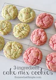 how do you make a cake 3 ingredient cake mix cookies easy and delicious somewhat simple