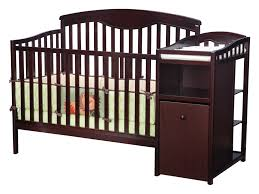 Convertible Cribs With Storage by Delta Espresso Crib Rail Creative Ideas Of Baby Cribs