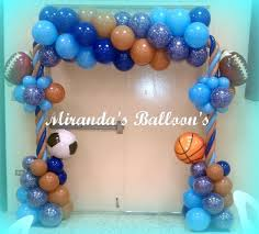 sports themed baby shower decorations sports theme decor tradesman