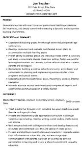 Special Education Resume Examples by Resume Examples 2012