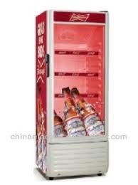 coca cola fridge glass door no frost showcase budweiser display fridge single glass door