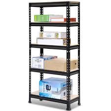 Heavy Duty Garage Shelving by Best Steel Shelving Units U0026 Storage Racks Reviews Findingtop Com