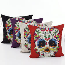 day of the dead home decor amazon com l u0026j art 4 pcs 18 u0027 u0027 retro colorful floral mexican day