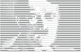 Meme Text Art - ascii art attempt hitler by todellisus on deviantart