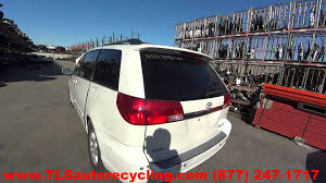 parting out 2004 toyota sienna stock 5215bl tls auto recycling
