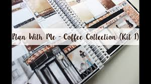 plan with me coffee collection kit 1 the crafty banana youtube