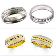 wedding band engraving wedding band quotes like success