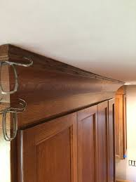 Kitchen Cabinet Bulkhead Attaching Crown Moulding Kitchen Cabinets Home Decoration Ideas